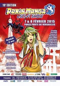 Paris Manga 19ème Edition, les 7 et 8/02/2015 à Paris Porte de Versailles